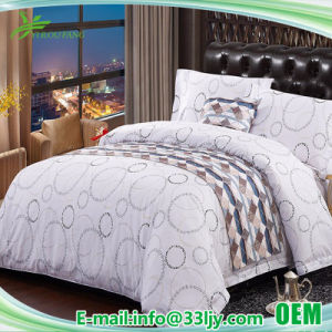 Customized Deluxe Printing Hospital Hotel Fitted Sheet pictures & photos