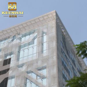 Commercial Building Art Decoration PVDF Aluminum Curtain Wall pictures & photos