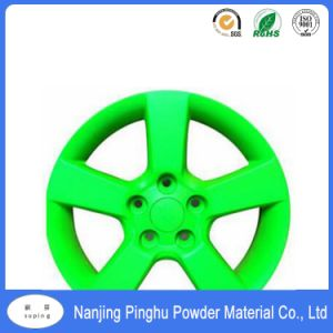 Fluorescent Dark Green Epoxy Polyester Electrostatic Powder Coating for Indoor and Outdoor Use pictures & photos