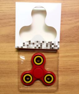 New Design LED Flashing Fidget Spinner pictures & photos