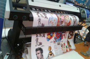 1.8m Large Inkjet Printing Machine with Dx8 Print Head for Banner pictures & photos