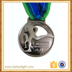 China Manufacturer Custom Zinc Alloy Medal Metal Running Sports Award Medals pictures & photos