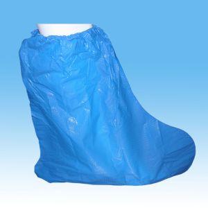 Disposable Non Slip Plastic Waterproof PVC Rain Boot Cover pictures & photos