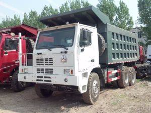 Sinotruck HOWO 6X4 50tons Mining Dump Truck for Sale pictures & photos