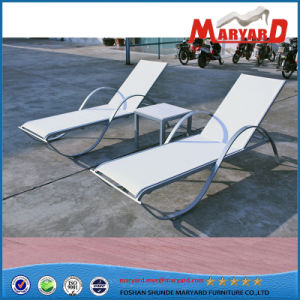 2018 Hot Sale Home & Garden Sling Furniture Poolside Sun Lounger pictures & photos