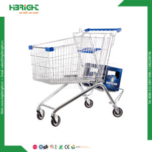 Supermarket Grocery Shopping Cart Shopping Trolley pictures & photos