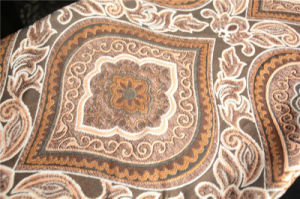 100% Polyester Arabic Upholstery Chenille Textile Fabric pictures & photos