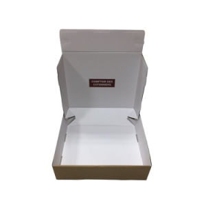 Automatic Bottom 3ply E Flute Corrugated Paper Packaging Gift Box pictures & photos