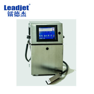 Chinese Industrial Automatic Continuous Solvent Inkjet Date Printer pictures & photos