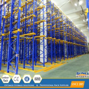 High Density Drive in Warehouse Storage Steel Pallet Rack pictures & photos