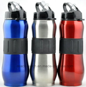 800ml Sports Stainless Steel Water Bottle with Straw (R-9022) pictures & photos