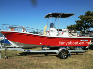 Liya 8people Fiberglass Fishing Panga Boat China with Motor Sale pictures & photos
