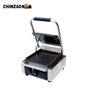 Single Head Commercial Panini Sandwich Grills with Ce pictures & photos