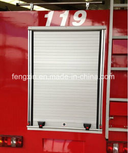 Emergency Rescue Truck Roller Shutter Fire Engine Roll up Door pictures & photos