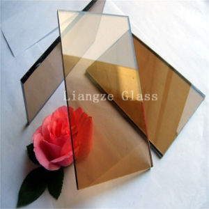 10mm Golden Bronze Tinted Glass for Decoration/Building pictures & photos