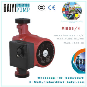 Heating Electric Family Circulation Pump (RS25/6GF-180) pictures & photos