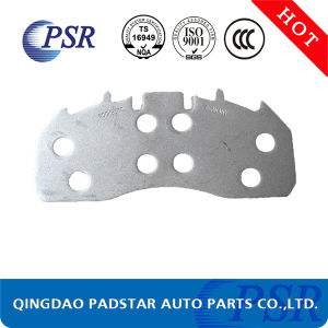 Wva29227 Wholesales Truck Brake Pad Cast Iron Backing Plate pictures & photos