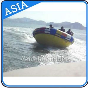 Custom Giant Durable PVC Disco Boat Towable Inflatable Saturn Inflatable Hurricane Boat pictures & photos