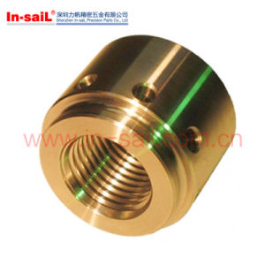 CNC Turning Lathing Titanium Brass Parts pictures & photos