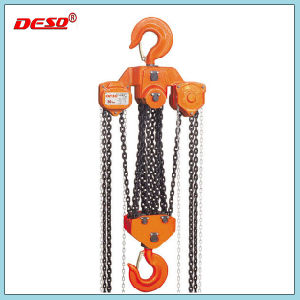 Heavy Duty Crane Manual Lifting Chain Hoist pictures & photos