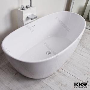 Simple Modern Acrylic Solid Surface Bathroom Shower Bath (BT1708084) pictures & photos