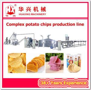 Complex Potato Chips Production Line (Pringles Chips Cracker Machine) pictures & photos