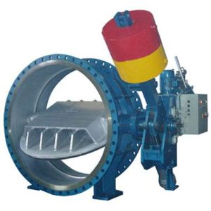 Counterweight Type Non Return Butterfly Valve (HD743H) pictures & photos