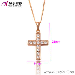 32468fashion Cubic Zirconia Jewelry Pendant with Rose Gold Color pictures & photos