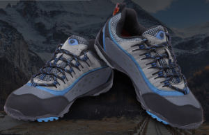 Hiking Shoes Resistant Boots Military Physical Training Blue Color pictures & photos
