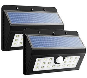 LED Outdoor Solar Power Emergency Security Garden Motion Sensor Wall Light pictures & photos
