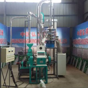 Small Scale Farm Family Using 5t/D Maize Milling Plant pictures & photos