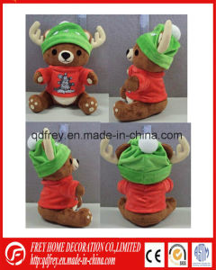 OEM Manufacturer of Plush Animal Moose Toy pictures & photos