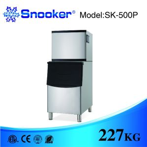 304 Stainless Air Cooling Commercial Sk-350p Ice Maker Ice Making Machine pictures & photos