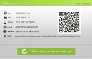 Hot Sales! 300W 500W 1000W Inbuilt Energy Storage Battery Portable Solar Power System pictures & photos