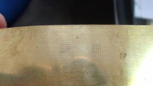 Brass Laser Engraving Machine/Laser Drilling Machine for Brass/Brass Sheet Laser Drilling Machine pictures & photos