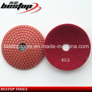 Granite Convex Diamond Polishing Pads for Polishing Curves and Corners pictures & photos