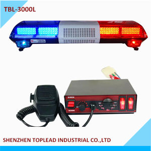 CE Certification and 12V Voltage LED Strobe Warning Light Bar Flashing Light Police Emergency Light Bar for Truck Tow (TBL-3000L)