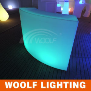 LED Bar Furniture, LED Round Bar Counters Design pictures & photos