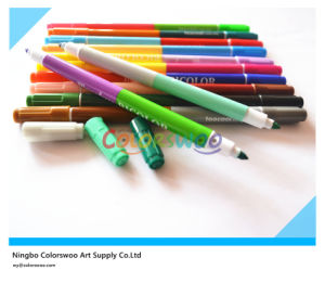 12PCS Dual Tip Water Color Pen for Kids and Students pictures & photos