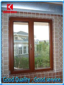 European Style Solid Wood Double Casement Window