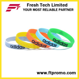 OEM Silicone Wristband Silicone Bracelet pictures & photos