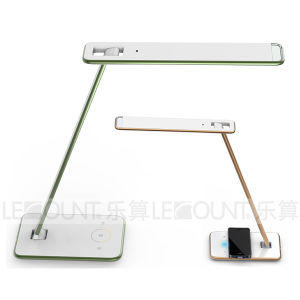 Wireless Phone Charger LED Table Lamp with Light Sensor with Qi Wireless Charging Function (LTB726W) pictures & photos