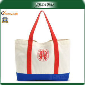 Hot Sell Handmade Cotton Tote Handle Bag for Women pictures & photos