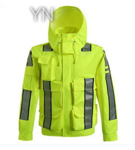 Safety Clothes/Jacket with Reflective Tape pictures & photos