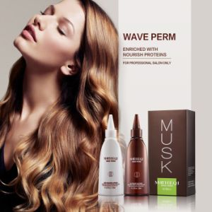 Cold Wave Hair Perm Lotion Product for Straight Hair pictures & photos