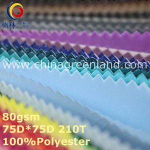 Spandex Polyester Pongee Plain Fabric for Sportwear (GLLML362) pictures & photos