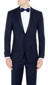 OEM Wholesales Two Piece Dinner Suit in Blue pictures & photos
