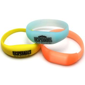 Music LED Light Wristband with Logo Printed (4010) pictures & photos