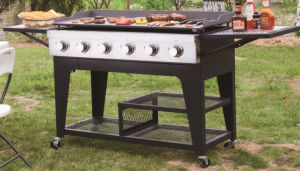 2/4/6/8 Burner Heavy Duty Outdoor Luxury Gas Griddle BBQ Grill pictures & photos