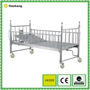 Hospital Pediatric Bed for Adjustable Medical Children Equipment (HK507) pictures & photos
